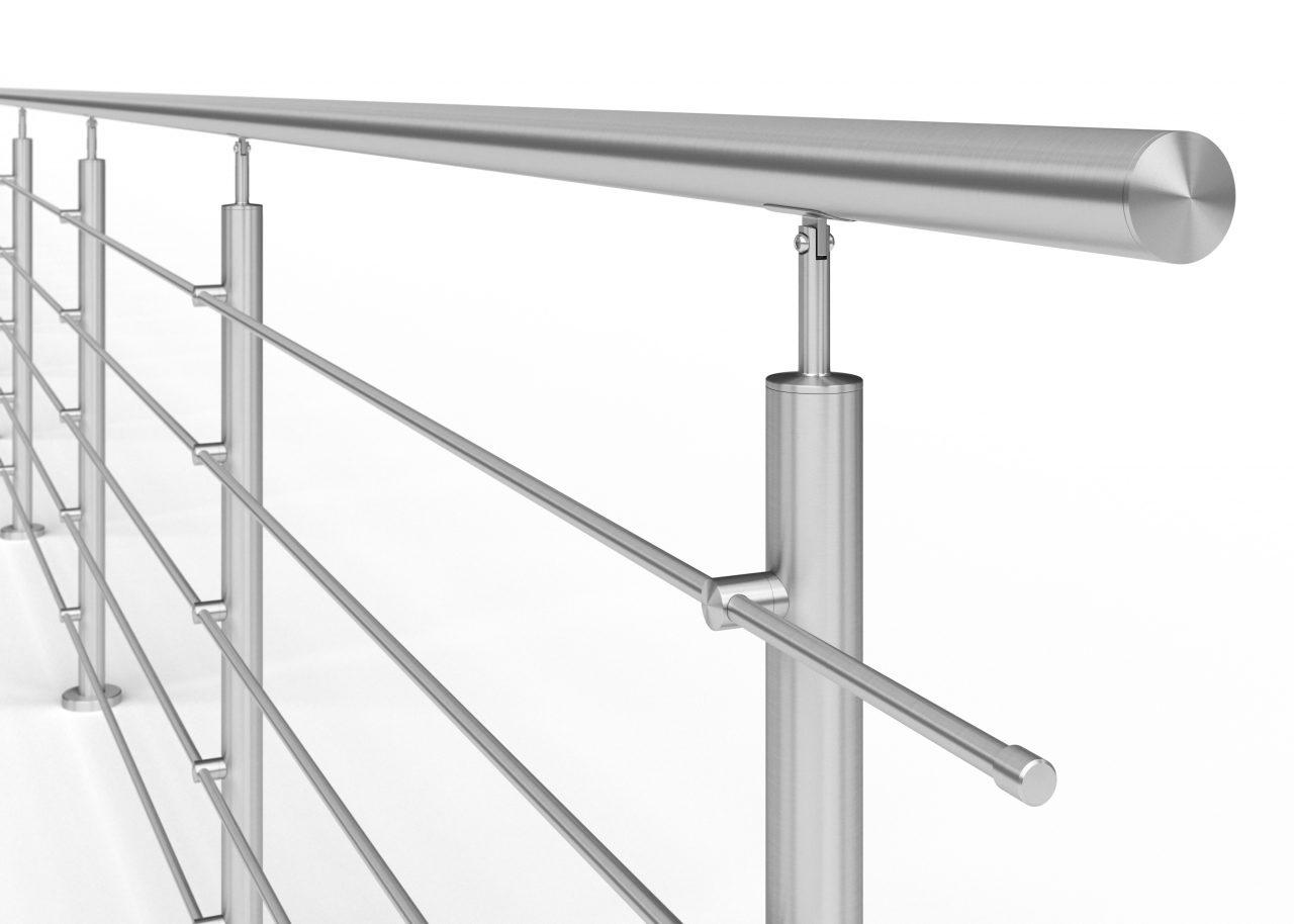 Czy warto wybrać balustrady ze stali nierdzewnej?
